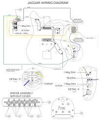 fender jaguar hh wiring schematic fender wiring diagrams instruction