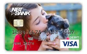 customized debit cards nbt mycard creation