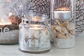 easy beach lanterns diy hometalk
