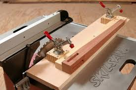 Skil Table Saw How To Make A Table Saw Taper Jig Tapered Legs Woodworking