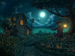 halloween background moon recent 25 scariest halloween wallpapers home ideas 1920x1200