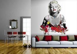 Marilyn Monroe Wall Decor Marilyn Monroe Living Room Decor Home Design Home Design