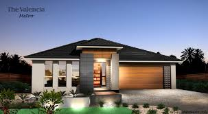 metro facade with alfresco home design tullipan homes