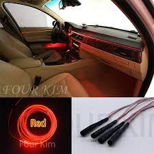 Brown Car Interior Aliexpress Com Buy For All Car 4m Led Car Interior Colorful