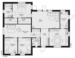 plan maison 7 chambres plan maison confort 7 catalogue plain pied karisma 19 ma