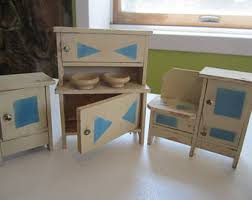 dolls house kitchen furniture doll house furniture etsy