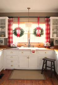 Classy Christmas Window Decorations by Full And Thick Our Cordless Majestic Wreaths And Garlands