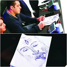 15 paintings by salman khan that will floor you