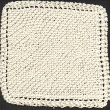12 knit dishcloth patterns for beginners allfreeknitting