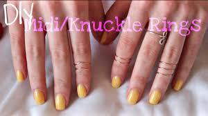 knuckle rings images Diy wire midi knuckle rings jpg