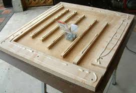 How To Clean Air Hockey Table Adventures In Diy Screen Printing Building Your Own Vacuum Table