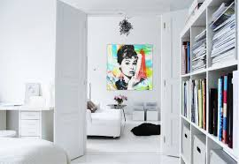decorations white tree wall art decoration ideas on grey wall