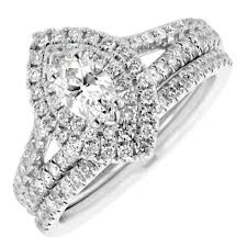marquise diamond engagement ring marquise diamond halo engagement ring with matching wedding band