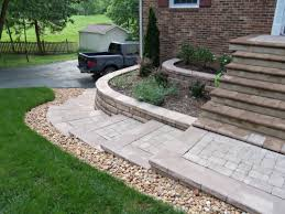 Ideas For Landscaping by How To Make Landscaping Bricks Handbagzone Bedroom Ideas