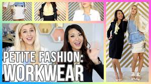 petite fashion tips how to dress for an interview office youtube