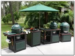 Green Egg Kitchen - cabinet green egg kitchen creative outdoor kitchens big green