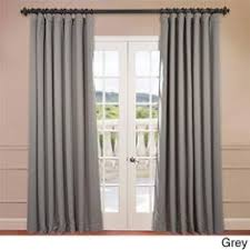 Double Wide Grommet Curtain Panels Half Price Drapes Grey 84 X 100 Inch Double Wide Grommet Blackout