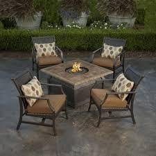 Propane Outdoor Fireplace Costco - fire pit patio set costco propane fire pit table set