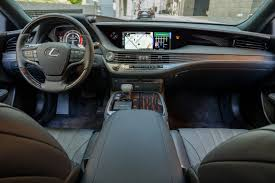 lexus ls backseat 2018 lexus ls 500 and 500h our view sastimes