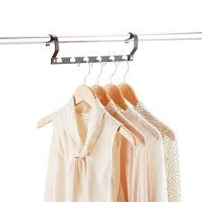 hanger organizers garment hooks u0026 closet rod divider the