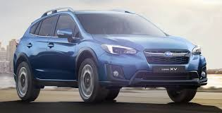 subaru crosstrek hybrid 2017 2018 subaru xv new looks better dynamics safety