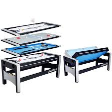 4 in one game table ea sports 72 inch 4 in 1 swivel combo game table 4 games with