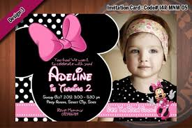 minnie mouse invitations minnie mouse invitations black and white polka dots light pink