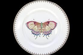 butterfly platter tear drop butterfly dessert plate