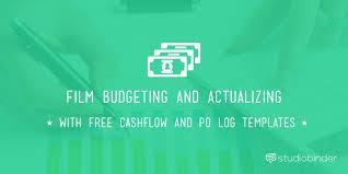 Daily Flow Template Excel Budget Cashflow Template And P O Log Studiobinder