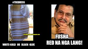 Viral Memes - the viral dress in pinoy memes version thedress super cute u