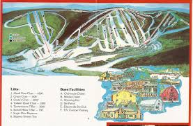 Holiday World Map by Holiday Valley Resort Skimap Org