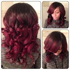 Pretty Colors To Dye Your Hair Cherry Red Ombre Featuring Malaika Love Yourself Love Your Hair