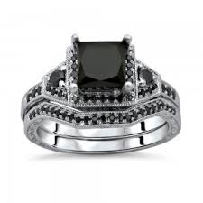 Black Diamond Wedding Ring Sets by Black Diamond Rings