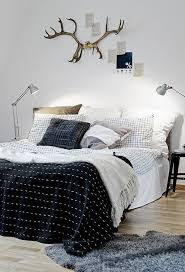 Guys Bedding Sets Patterned Masculine Bedding Set Interior Design Pinterest