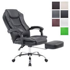 pied fauteuil de bureau clp fauteuil bureau ergonomique castle fauteuil relax avec repose