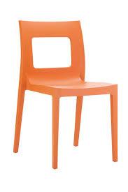 siege plastique chaise lucca fauteuil siège plastique empilable design cuisine