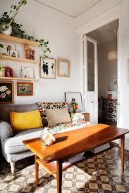 Retro Living Room by Modern Retro Decor Home Design Ideas