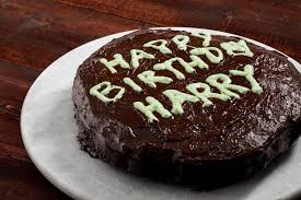 happy birthday harry potter vegan u0026 gluten free chocolate cake
