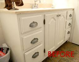 How To Paint A Bathroom Cabinet by Painting A Sink An Easy Tutorial
