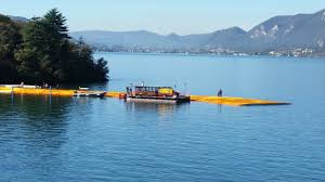Floating Piers by Christo Claude U0027s U0027the Floating Piers U0027 Will Open This June In Italy