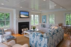 Family Style Beach House Beach Style Living Room Boston By - Beach style decorating living room