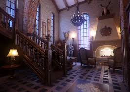 Modern Victorian Homes Interior Amazing Classic Gothic Home Interior Design Rendering With Dark