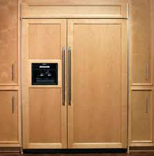 in decorations counter depth refrigerator with panels panel ready in