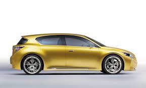 lexus hatchback hybrid lexus lf ch hatchback concept unveiled autoevolution
