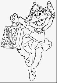 incredible cookie monster christmas coloring pages with elmo