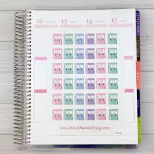kawaii planner stickers zoom