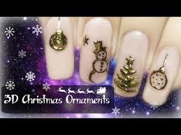 easy 3d ornaments transfer gel foil nail