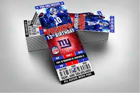 New York Giants Home Decor Sports Invites New York Giants Football Bottle Labels