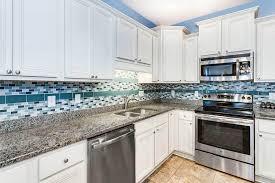 blue kitchen backsplash white cabinets 33 blue and white kitchens design ideas designing idea