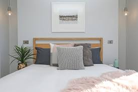 Scandinavian Bed Modern Contemporary Winter Scandinavian Bedroom Timber Bed Frame